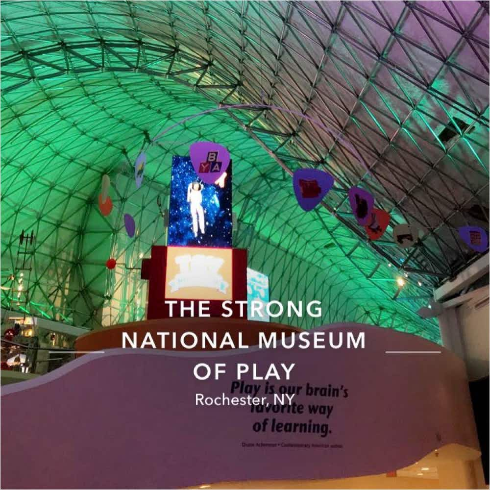 The Strong Museum of Play main atrium